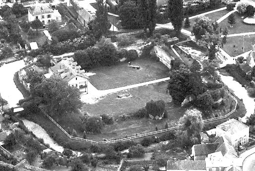 château de Brie-Comte-Robert 1950